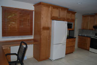 Bay Village Ohio kitchen and home office remodeling
