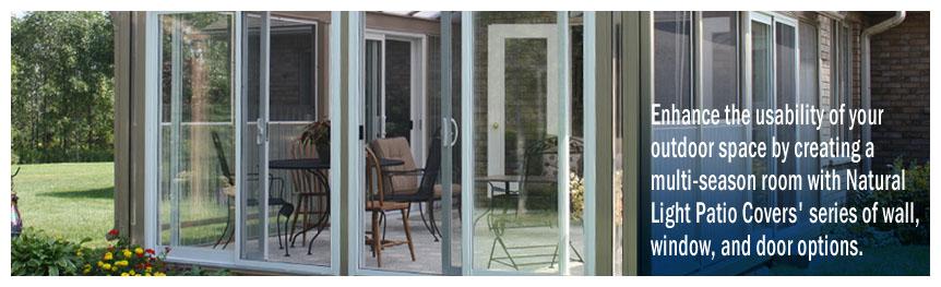 Patio Enclosures, Sunrooms, Sunroom Construction, Screen Rooms ...