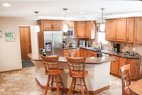 HAAS Kitchen Cabinets and Kitchen Remodel Independence Ohio