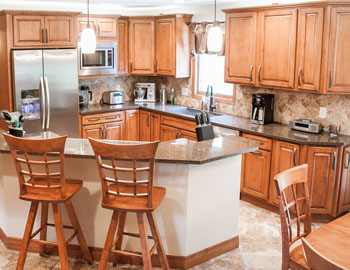 Kitchen Remodel Independence Ohio With Haas Cabinets